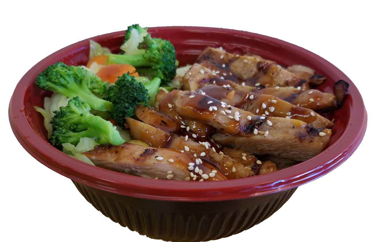 10. Grilled Chicken Teriyaki Bowl
