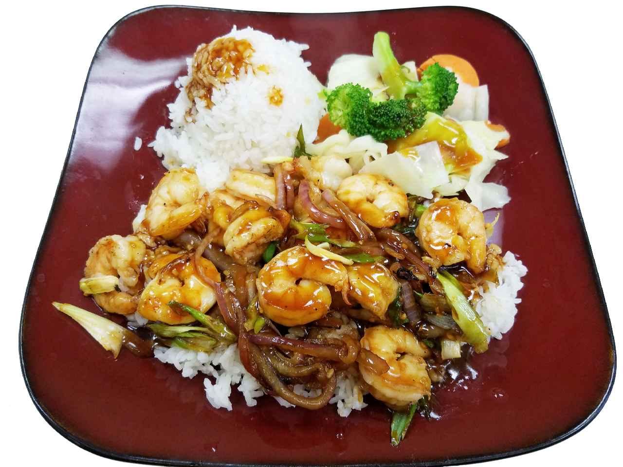 13. Teriyaki Shrimp