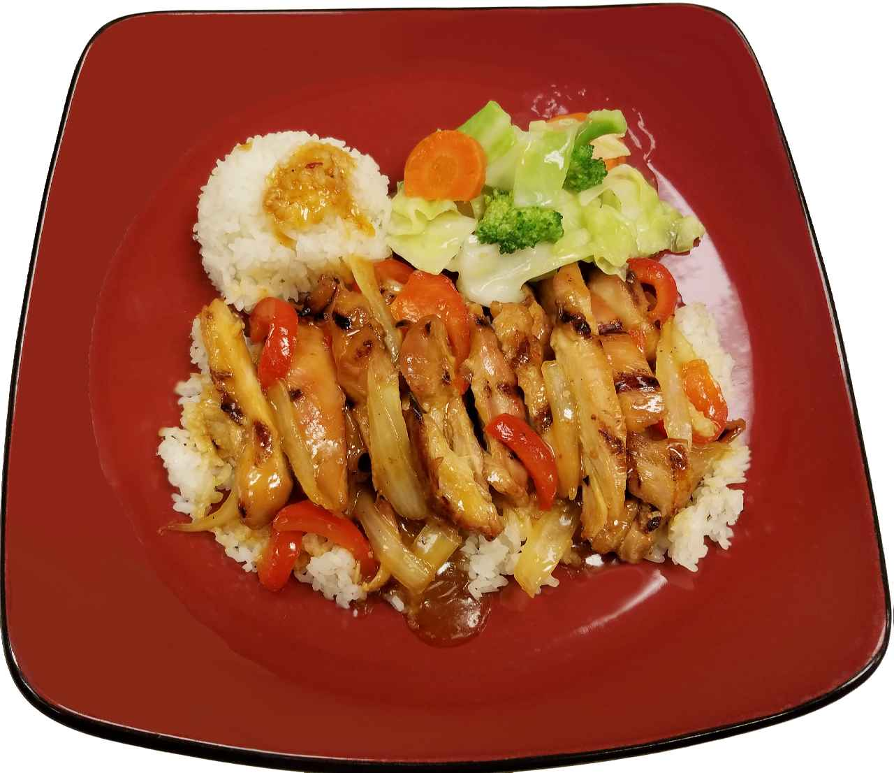 16. Spicy Orange Chef Special