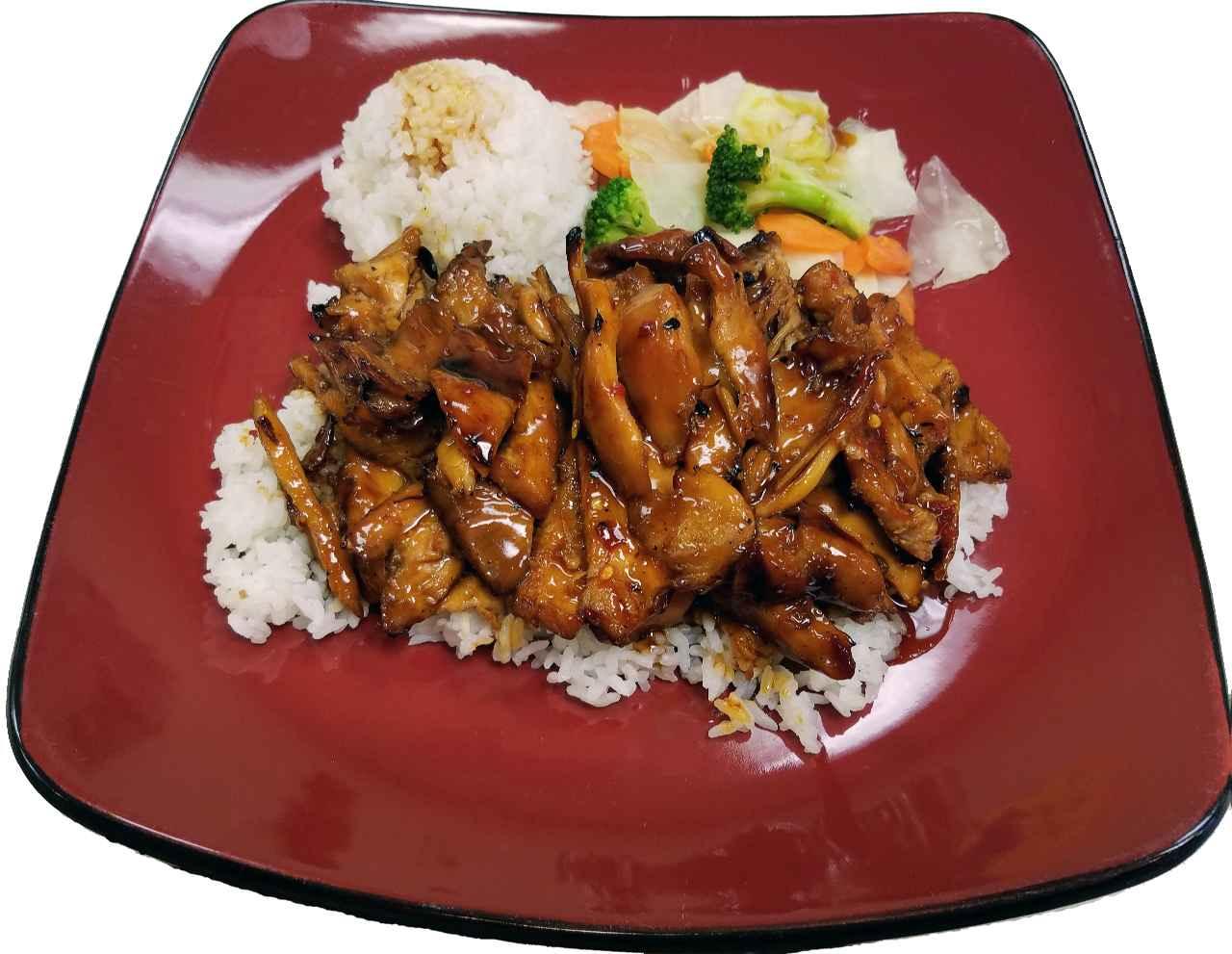 #3. Spicy Tangerine Teriyaki Zingy! – HOT!