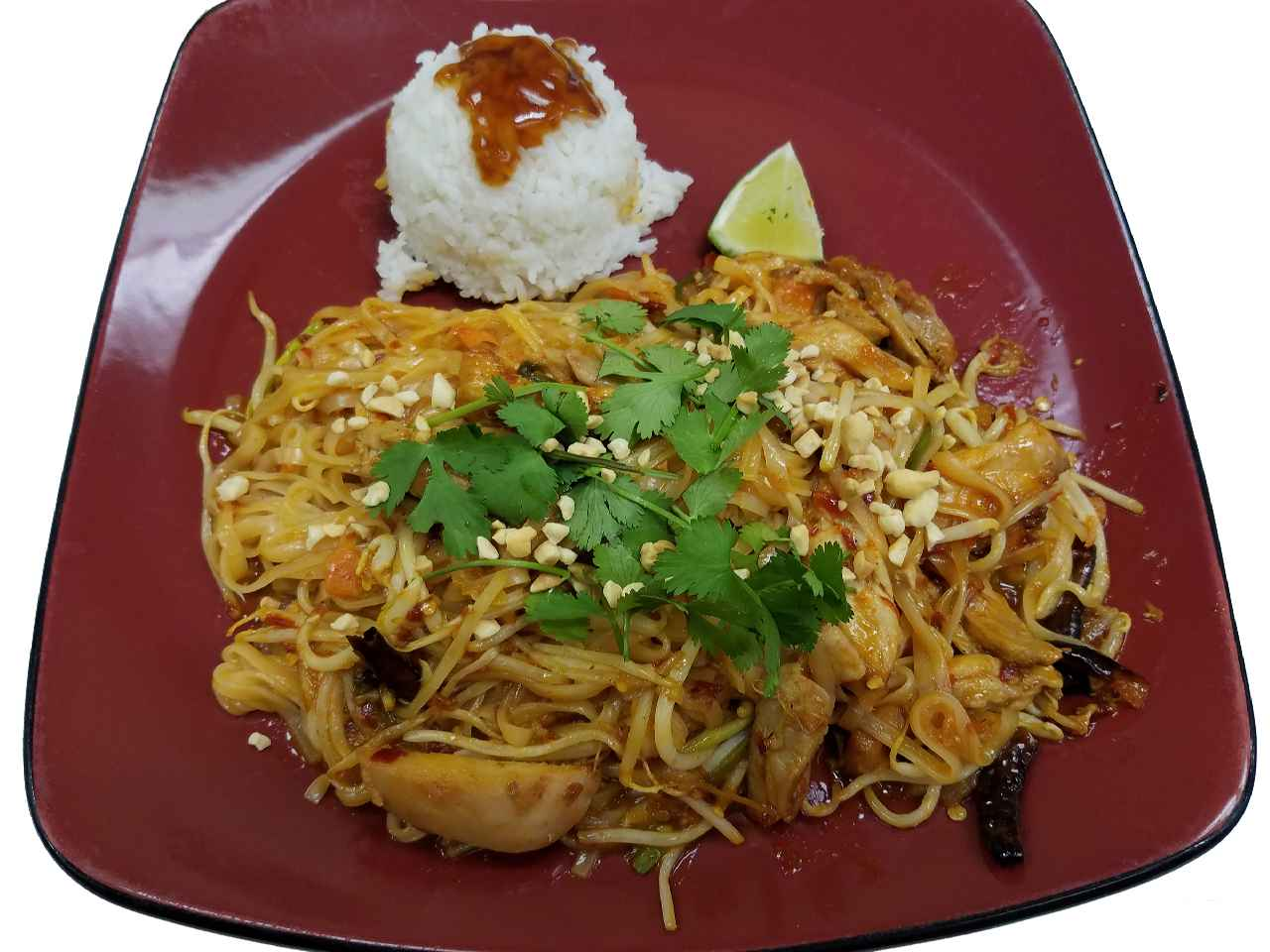15. Spicy Pad Thai High! – HOT!