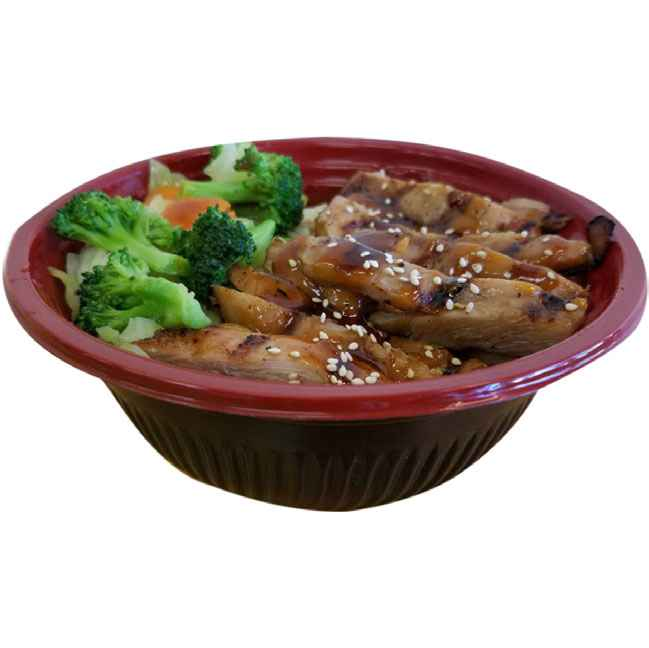 91. Lunch Bowl Special – Grilled Chicken Teriyaki